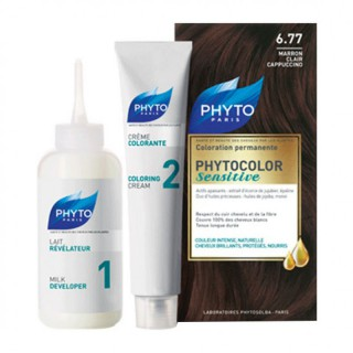 Phytocolor Sensitive - 6.77 marron clair cappuccino