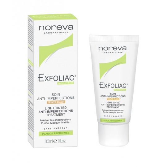 Noreva Exfoliac soin anti-imperfections teinté clair - 30ml