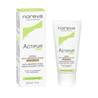 Noreva Exfoliac soin anti-imperfections teinté doré - 30ml