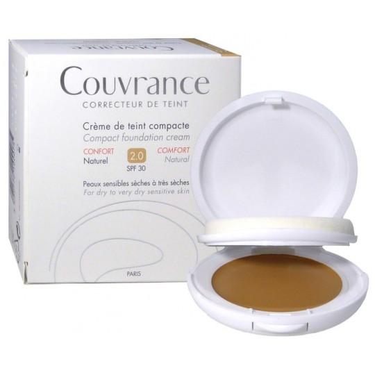 Avène Couvrance crème de teint confort 2.0 naturel SPF30 - 10g