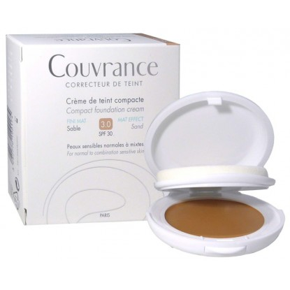 Avène Couvrance crème de teint confort 3.0 sable SPF30 - 10g