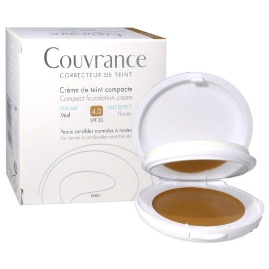 Avène Couvrance crème de teint confort 4.0 miel SPF30 - 10g