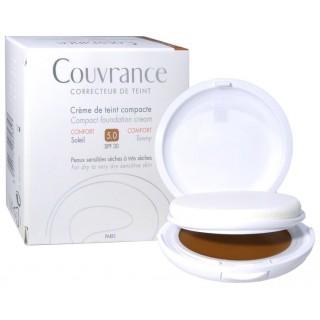 Avène Couvrance crème de teint confort 5.0 soleil SPF30 - 10g