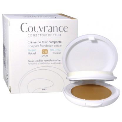 Avène Couvrance crème de teint fini mat 2.0 naturel SPF30 - 10g
