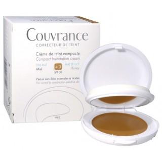 Avène Couvrance crème de teint fini mat 4.0 miel SPF30 - 10g