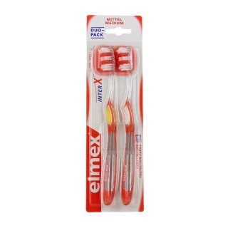 Elmex brosse à dents protection caries medium x2