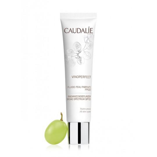 Caudalie Vinoperfect SPF 20 fluide jour peau parfaite - 40ml