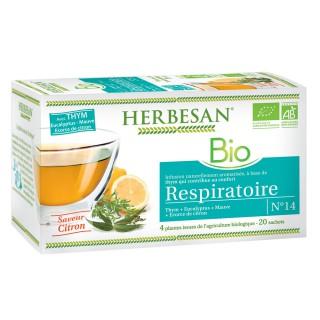 Herbesan infusion respiratoire N°14 - 20 sachets