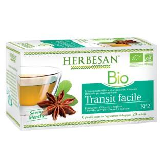 Herbesan infusion transit facile N°2 - 20 sachets