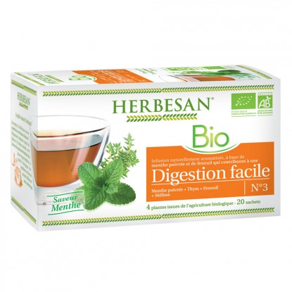 Herbesan infusion digestion facile N°3 - 20 sachets