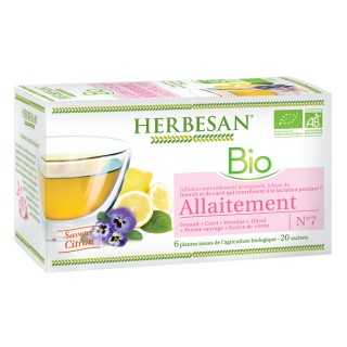 Herbesan infusion allaitement N°7 - 20 sachets