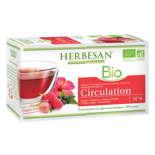 Herbesan infusion circulation N°9 - 20 sachets