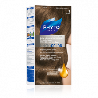 Phytocolor coloration soin permanente N°7 blond