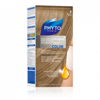Phytocolor coloration soin permanente N°8 blond clair