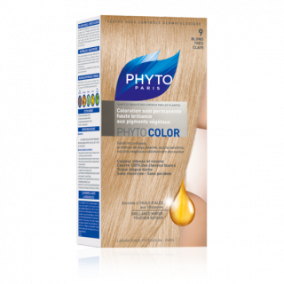 Phytocolor coloration soin permanente N°9 blond très clair