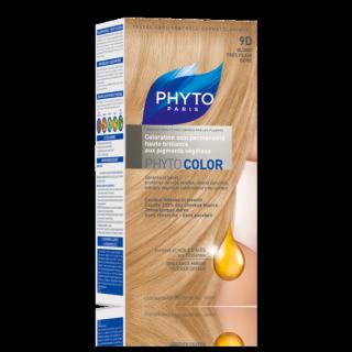 Phytocolor coloration soin permanente N°9D blond très clair doré
