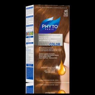 Phytocolor coloration soin permanente N°6C blond foncé cuivré