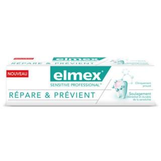 Elmex dentifrice sensitive professional répare et prévient - 75ml