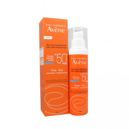 Avène fluide solaire indice 50+ - Spray 50 ml