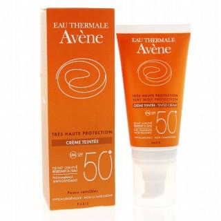 Avène crème solaire teintée SPF50+ - Spray 50 ml