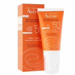 Avène crème solaire teintée SPF50+ sans parfum - 50 ml