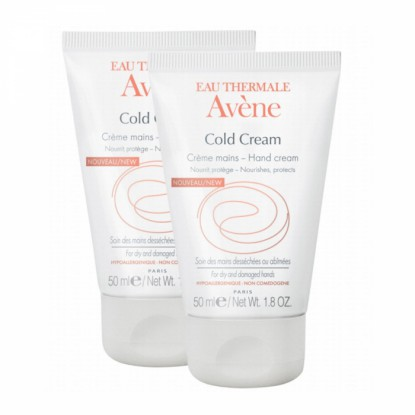 Avène Cold Cream crème mains - 2 x 50ml