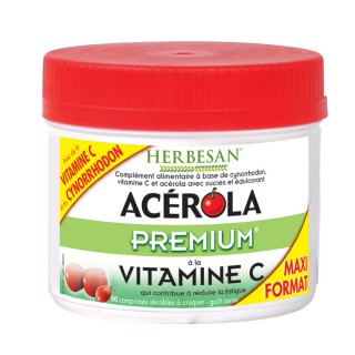 Herbesan Acérola premium - 90 comprimés à croquer