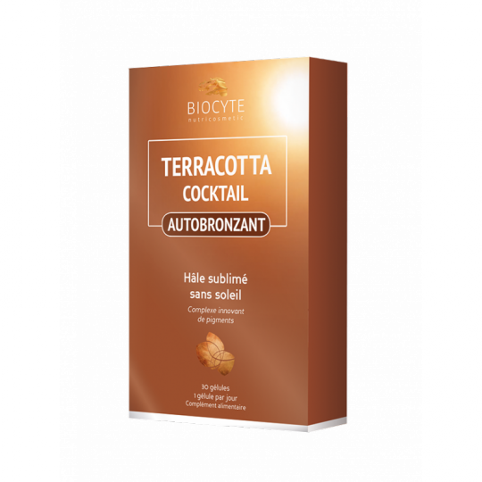 Biocyte Terracotta cocktail autobronzant - 30 comprimés
