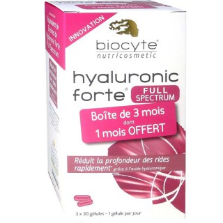Biocyte Hyaluronic forte 200mg 90 Gélules