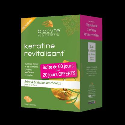 Biocyte Pack Kératine revitalisant - 120 Gélules