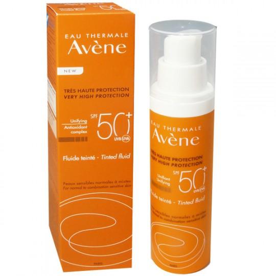Avène Fluide solaire teinté SPF 50+ - 50 ml