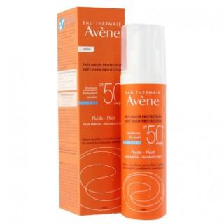 Avène Fluide solaire SPF 50+ sans parfum - 50ml