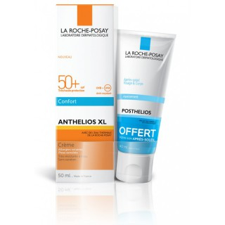 La Roche Posay Anthelios fluide SPF50+ - 50ml + Mini Posthelios 40ml Offert