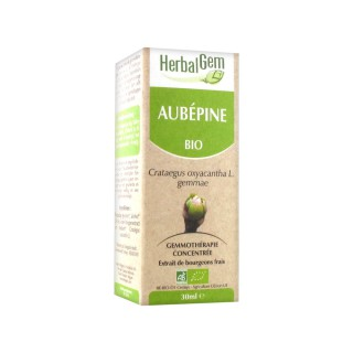 HerbalGem Macérat mère bourgeons Aubépine bio - 30 ml