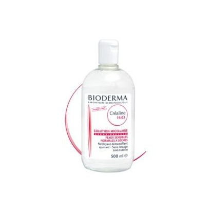 BIODERMA Créaline H2O Solution micellaire Ss parfum 500ml