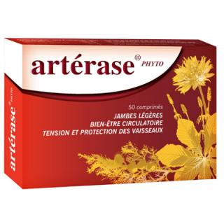 Nutriclem Artérase phyto - 50 comprimés