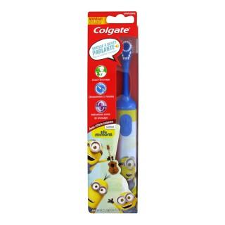Colgate Brosse à dents électrique Minions enfants à partir de 3 ans