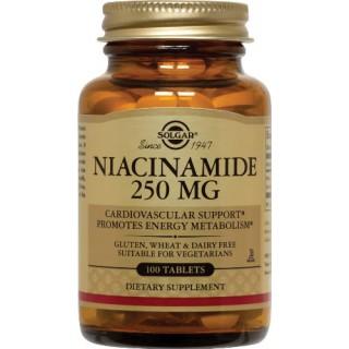 Solgar Vitamine B3 Niacinamide 550 mg - 100 gélules végétales