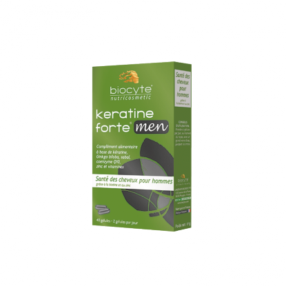 Biocyte Keratine men - 40 Gélules