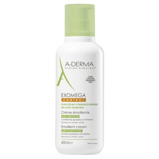 A-Derma Exomega Control crème émolliente - 400ml