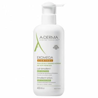 A-Derma Exomega Control lait émollient - 400ml