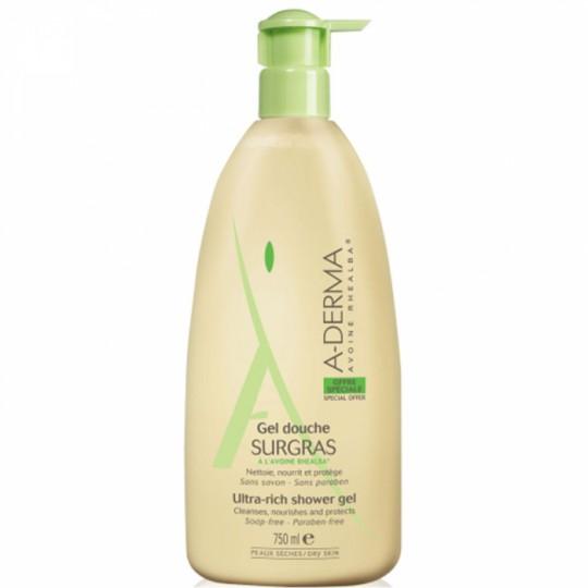 A-Derma gel douche surgras - 750 ml