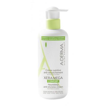 A-Derma Xera-Mega crème nutritive anti-dessèchement - 400 ml