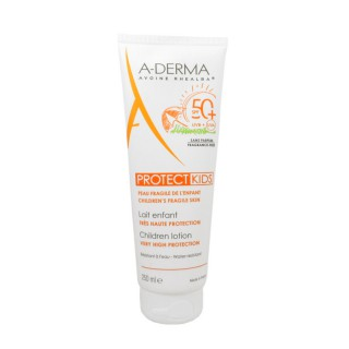 A-Derma Protect kids lait enfant SPF50+ - 250 ml