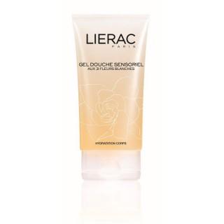 Lierac gel douche sensoriel aux 3 fleurs blanches - 150ml