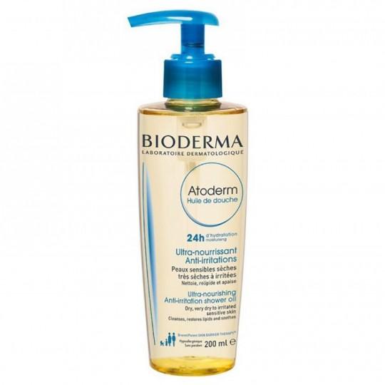 Bioderma Atoderm huile de douche - 200ml