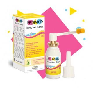 Pediakid spray nez gorge 20ml + 2 embouts