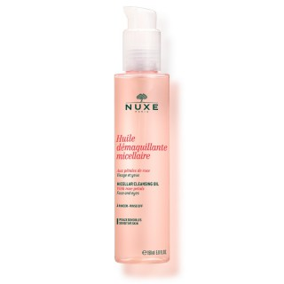 Nuxe huile démaquillante micellaire rose 150ml