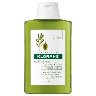 KLORANE ANTI-AGE EPAISSEUR & VITALITE 400 ml EXTRAIT ESSENTIEL D'OLIVIER