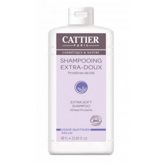 Cattier Shampooing Usage Quotidien 1 L